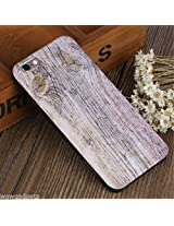 USAMS Wood Grain Pattern TPU Protective Case with Fragrance for iPhone 6 / 6s 4.7 inch - Purple