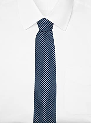 Yves Saint Laurent Men's Dotted Tie, Teal