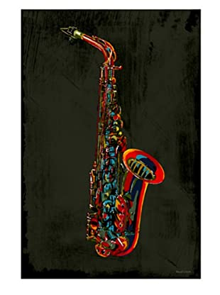 Maxwell Dickson Sax Canvas Art