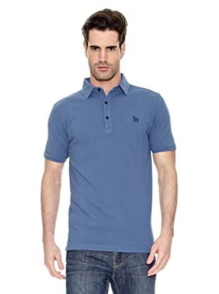 Toro Polo Cuello Camisa (Azul)