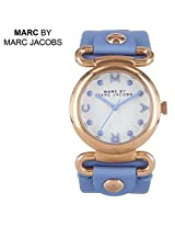 Marc by Marc Jacobs Molly River Blue Leather Ladies Watch