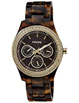 Fossil End of Season Chronograph Brown Dial Men's Watch - ES2795