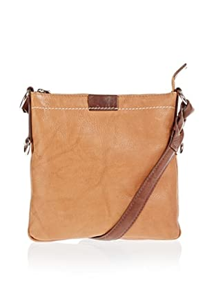 Borella Leder Cross-Body Bag (Tan/Braun)
