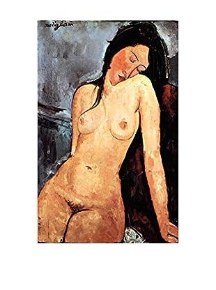 LegendArte  Wandbild Sitzender Akt von Amedeo Modigliani