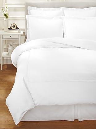 Garnier-Thiebaut Nice Hotel-Style Duvet Set (White/White)