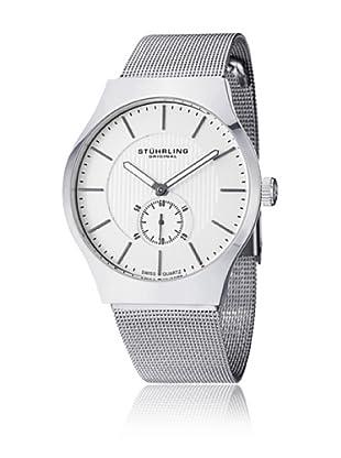 Stührling Uhr mit Schweizer Quarzuhrwerk Albion silberfarben 40 mm