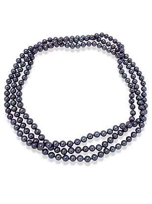 Valero Pearls 340240 - Collar de mujer de plata con perla cultivada de agua dulce, 90 cm