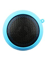 Orignal Naztech N15 3.5mm Mini Boom Speaker with SD Card Slot for WMA/MP3 Playback Blue Ipad apple