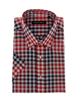Pierre Clarence Camisa de manga corta (Rojo/Multicolor)