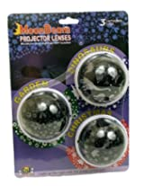 Moonbeam 3 Count Projector Lens, Christmas Theme