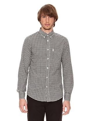 Ben Shermann Camisa Vichy Nestor (Negro / Blanco)