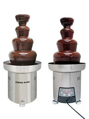 Lentz Choco King FD 3 TP Volledelstahl Schokobrunnen mit Touch Panel Bedienung, 3 kg