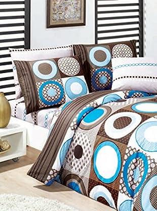 Colors Couture Bettdecke und Kissenbezug Esra