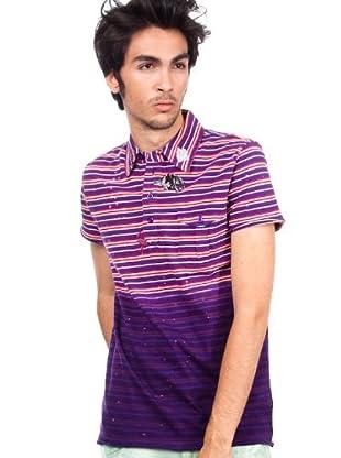 Custo Poloshirt (Violett)
