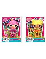 Lalaloopsy Littles Doll Bundle Includes 1 Streamers C Arnivale And 1 Posy Golden Petals