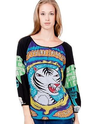 Custo Camiseta Juli (Negro)