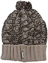 Muk Luks Women's Cable Hat, Timber Wolf, One Size
