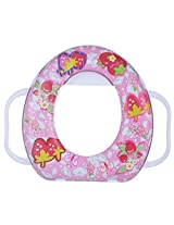 Mahaveer Regular Baby potty Seat with handle (35 cms x 7 cms x 30 cms, Multicolor)