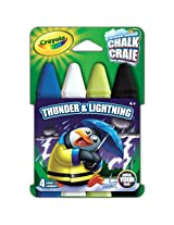 Crayola Build Your Box Thunder N Lightning Chalk (4 Count)