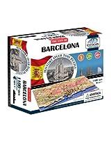 4D Cityscape Barcelona Time Puzzle