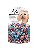 Aria Ginger Bows for Dogs, 100-Piece Canisters