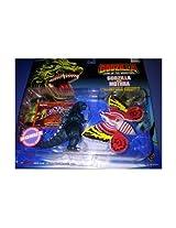 Godzilla King Of The Monsters Godzilla Vs. Mothra Collectible Figures