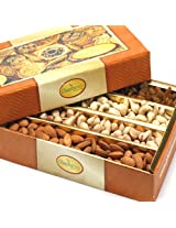 Ghasitaram's Dryfruit Box 850 gms (Multicolour,Rectangle)
