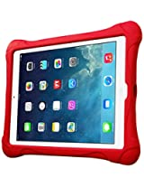 Fintie Ultra Light Weight Shock Proof Kids Friendly iPad Air Kiddie Case Cover, Red (EPC0310AD-US)