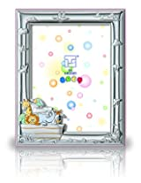 Silver Touch USA Sterling Silver Ark Picture Frame, Pink