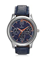 Calvino Men's Blue Dial Watch CGAS_1515524_Blueblue