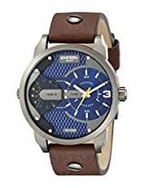 Diesel End of Season The Daddie Analog Blue Dial Men's Watch - DZ7339