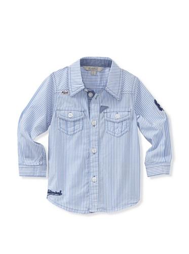 KANZ Baby Long Sleeve Striped Shirt (Blue)