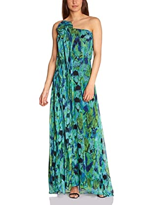 BCBGMaxazria Vestido Tabatha (Azul)