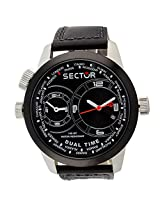 Sector Black Chronograph Men Watch R3251102125