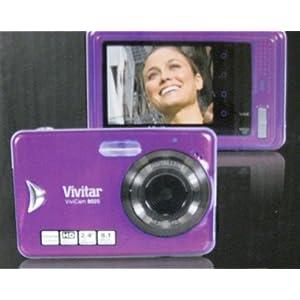 ViviCam 8025 8.1 Mega Pixels Touch Screen-Purple