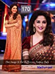 Indian Designer Bollywood Replica Actress Madhuri Beige Bridal Saree 170