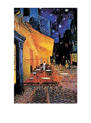 ArtopWeb Panel de Madera Van Gogh Cafè Nuit 60x90 cm