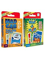 Mad Gabs Picto-Gabs and Whac-A-Mole Card Games