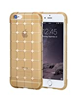 Iphone 6S Plus(5.5Inch) Case,Iphone 6 Plus Case,Rock(Tm) [Cubee Series] Bumper Case Cover For Iphone 6S Plus/Iphone 6 Plus 5.5Inch - Trans-Gold