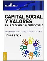 Capital Social y Valores En La Organizacion Sustentable