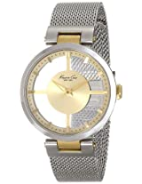 Kenneth Cole Analog Gold Dial Women's Watch - IKC4987