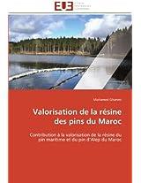 Valorisation de La Resine Des Pins Du Maroc (Omn.Univ.Europ.)