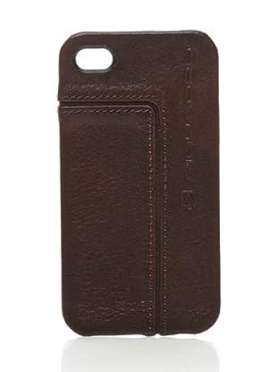 Piquadro Custodia iPhone 4/4S (testa di moro)