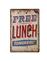 Imported 20x30cm Vintage Metal Tin Sign Plaque Wall Art Poster Cafe Bar Pub Words #7