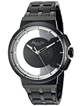 Kenneth Cole Transparency Analog Black Dial Men'S Watch - 10020856