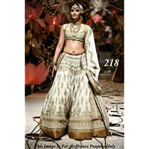 Bollywood Style Sonam Kapoor Santoon Lehenga In Off White and Gold Colour NC302