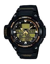 Casio Outdoor light Analog-Digital Black Dial Men's Watch - SGW-400H-1B2VDR (AD165)
