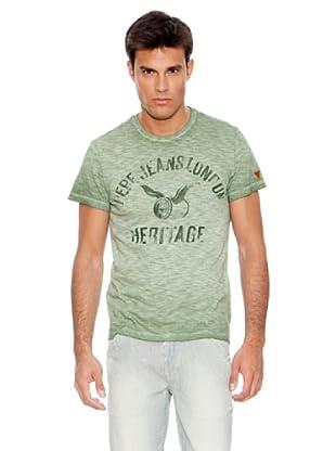 Pepe Jeans London Camiseta Rye (Verde)