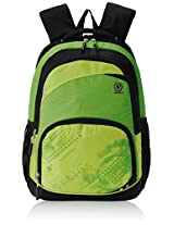 "Genius Nylon Children's Backpack (GN 1517 - 17""-GREEN)"
