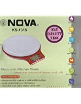 Nova Kitchen Scale weight Machin Model KS 1318